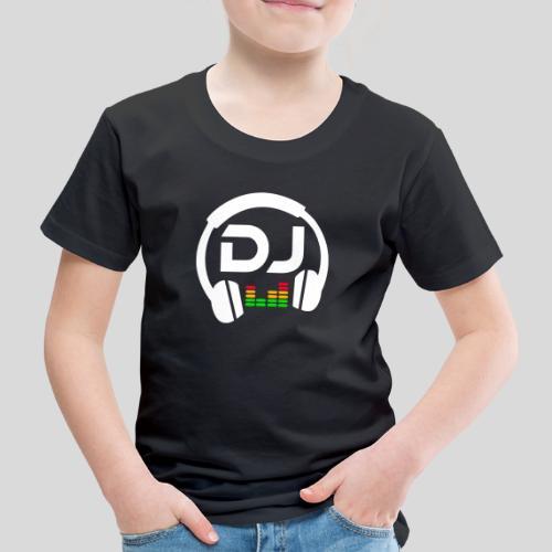 DJ Headphone - Maglietta Premium per bambini