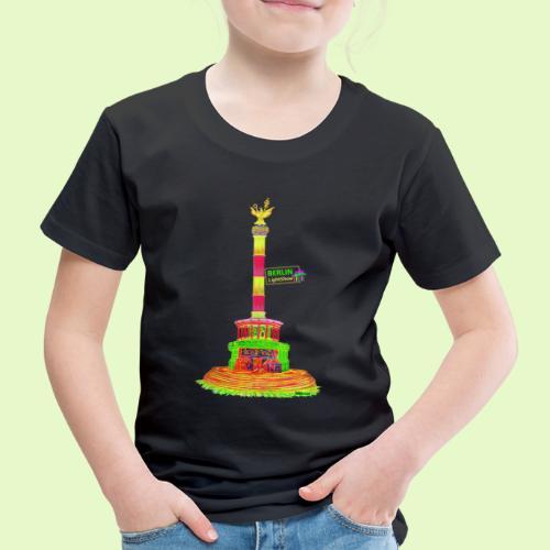DIE Siegessäule / BerlinLightShow / PopArt - Kinder Premium T-Shirt