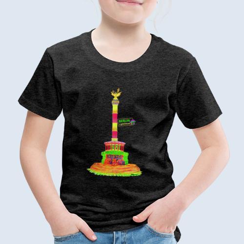 Siegessäule / BerlinLightShow / PopArt - Kinder Premium T-Shirt