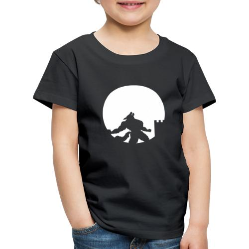 castle night wolf - Maglietta Premium per bambini