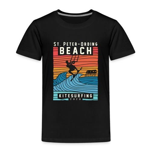 Kitesurfing St. Peter Ording - Kinder Premium T-Shirt