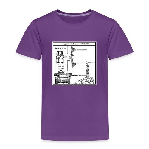 W.O.T War tactic, tank shot - Kids' Premium T-Shirt