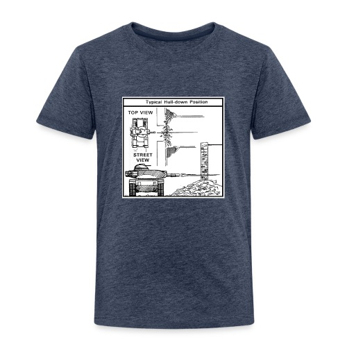 W.O.T War tactic, tank shot - Kids' Premium T-Shirt
