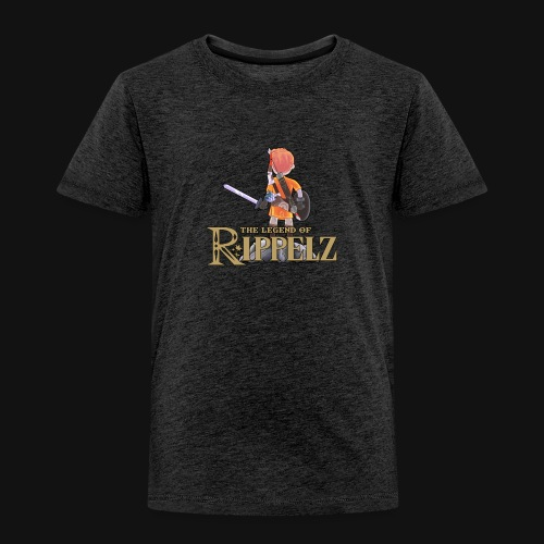 Rippelz - The Legend of Rippelz - Kinder Premium T-Shirt