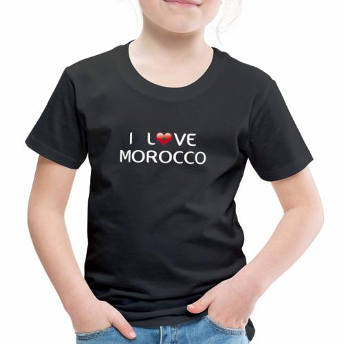 i_love_morocco - Camiseta premium niño
