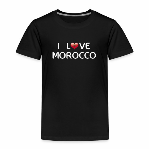 i_love_morocco - T-shirt Premium Enfant