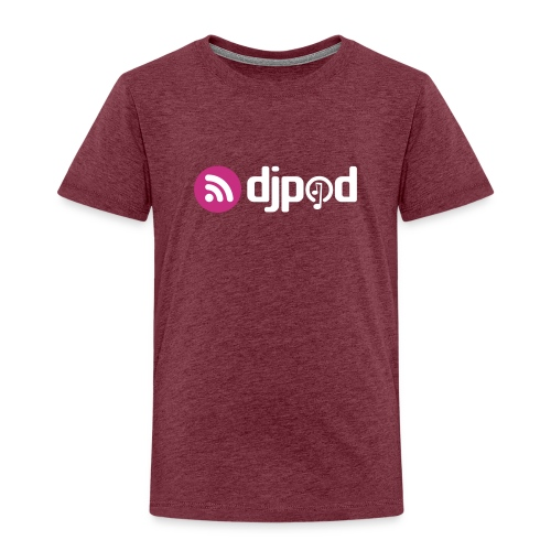 djpod logo floc - T-shirt Premium Enfant