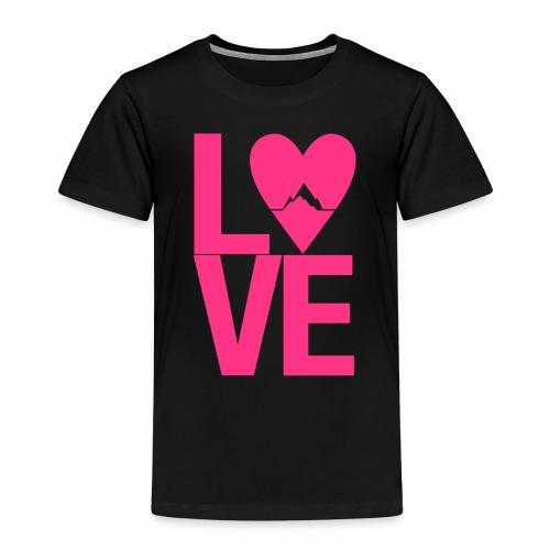 Mountain Love - Kinder Premium T-Shirt