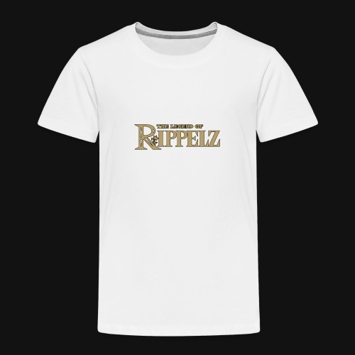 Rippelz - The Legend of Rippelz (Schriftzug only) - Kinder Premium T-Shirt