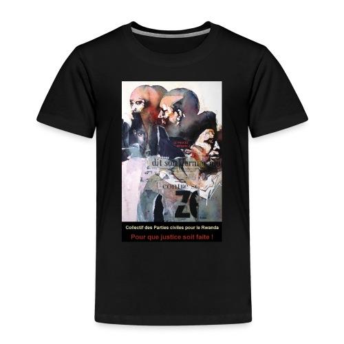 Collectif des Parties Civiles - T-shirt Premium Enfant