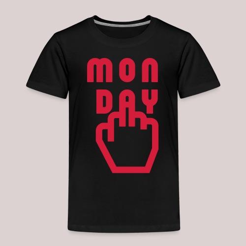 26-30 Lazy Monday - Kinder Premium T-Shirt