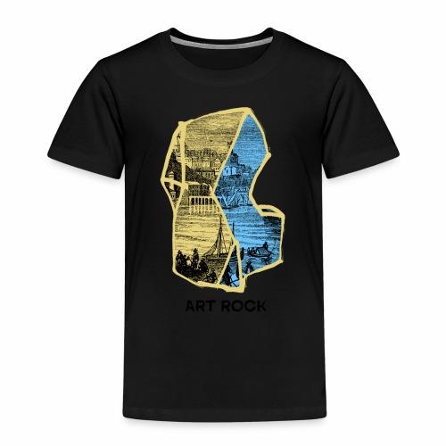 ART ROCK No 4 colour - Kinderen Premium T-shirt