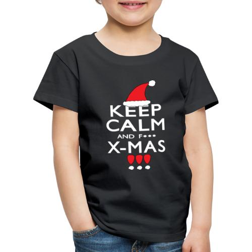 Keep calm XMAS - Kinder Premium T-Shirt