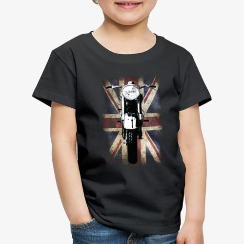 Vintage Motor Cycle BSA feature patjila - Kids' Premium T-Shirt