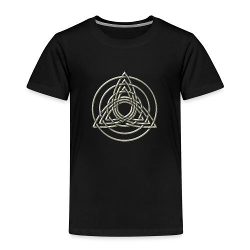 Triple Triquetra, Keltisches Symbol Dreifaltigkeit - Kinder Premium T-Shirt