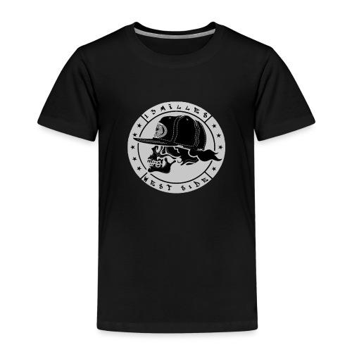 skull 13 milles noir et gris super design - T-shirt Premium Enfant