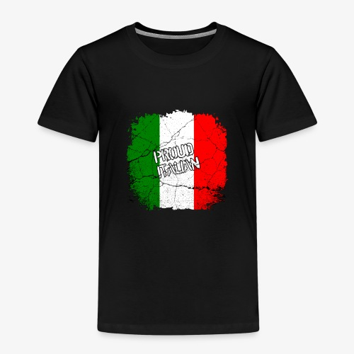 Proud Italian Stolzer Italiener Italienerin - Kinder Premium T-Shirt