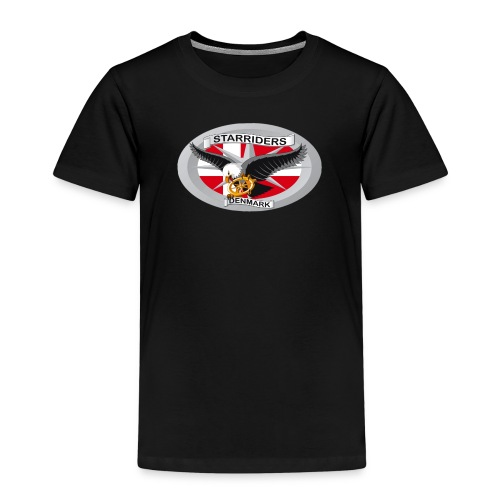SR logo png - Børne premium T-shirt