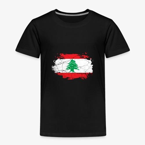 Libanon Libanesische Flagge - Kinder Premium T-Shirt