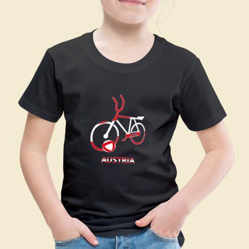 Radball | Austria Rad - Kinder Premium T-Shirt