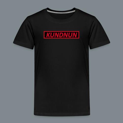 Kundnun zwart rood - Kinderen Premium T-shirt