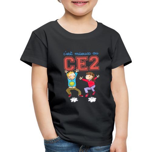 cest mieux au ce2 - T-shirt Premium Enfant
