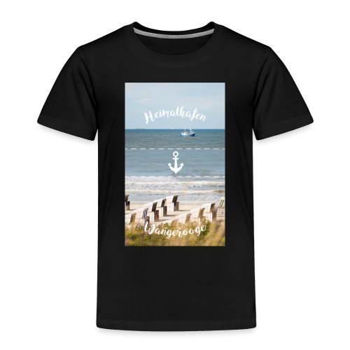 Heimathafen Wangerooge - Kinder Premium T-Shirt