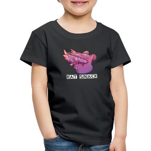 Rat Snack Text - Premium-T-shirt barn