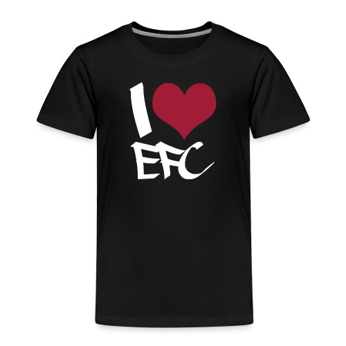 iloveefc white - Kinder Premium T-Shirt