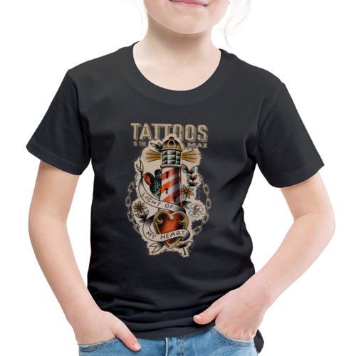 Lighthouse Leuchtturm Tattoos to the Max - Kinder Premium T-Shirt