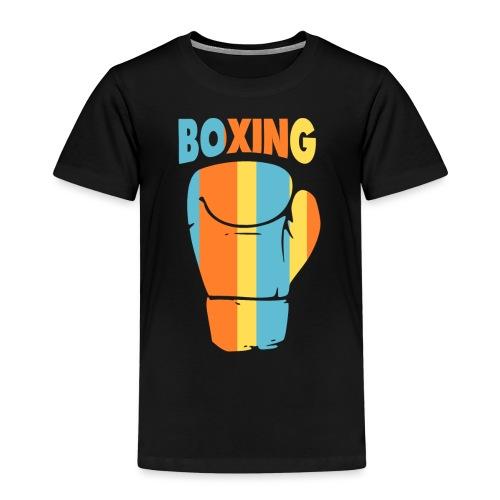 boxing design Color - T-shirt Premium Enfant