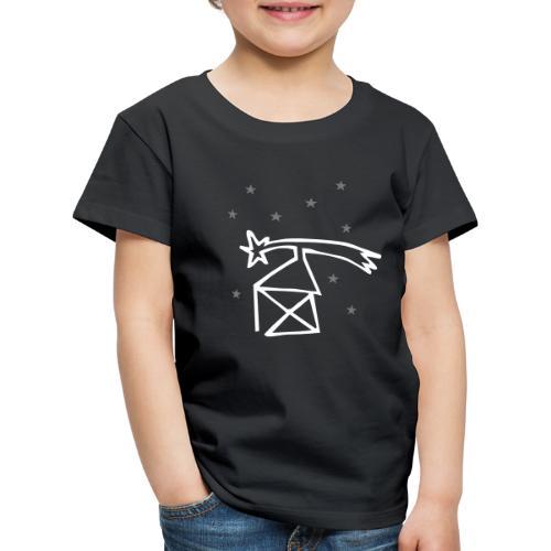 nikolaushaus mit komet - Kinder Premium T-Shirt