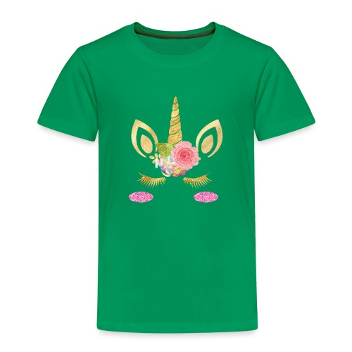 unicorn face - Kinder Premium T-Shirt