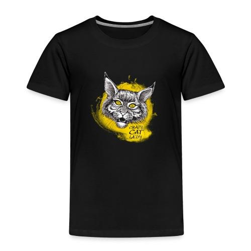 crazy cat lady - Kinder Premium T-Shirt