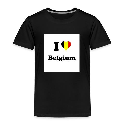 i love belgium - Kinderen Premium T-shirt
