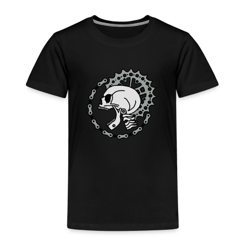 Skull Chain Punk-3c - Kinder Premium T-Shirt