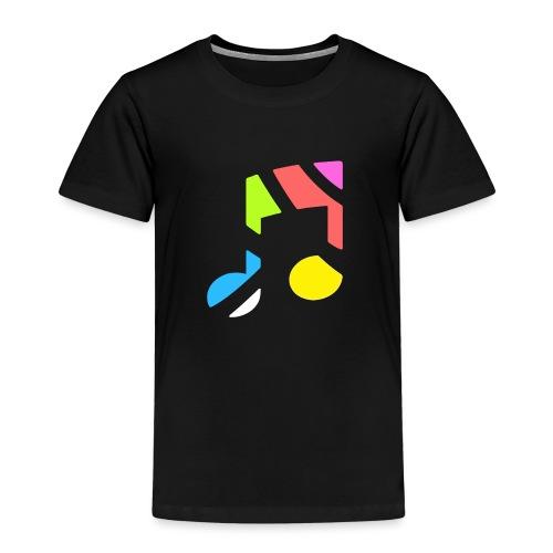 CurveRadioLogoWhite - Kids' Premium T-Shirt