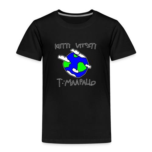 Kiitti - Lasten premium t-paita