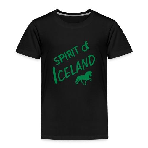 4gaits ruecken - Kinder Premium T-Shirt