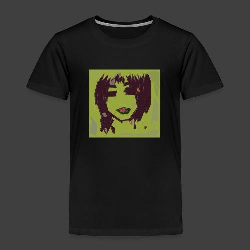 Green brown girl - Kids' Premium T-Shirt