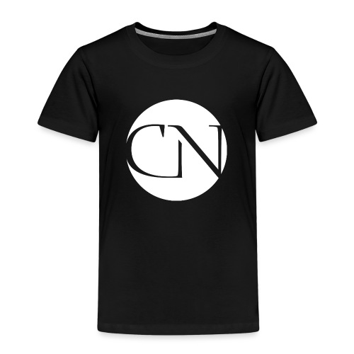 ChiaraNashairaLogoWhite png - Kinderen Premium T-shirt