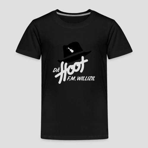daeHoot_Shirt_Logo1_2c - Kinder Premium T-Shirt