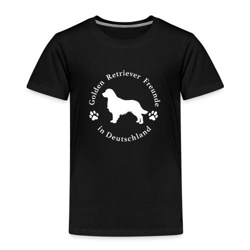 golden retriever freunde weiss neu png - Kinder Premium T-Shirt