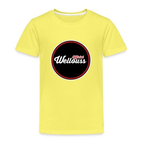 Wellouss Fan T-shirt   Rood - Kinderen Premium T-shirt