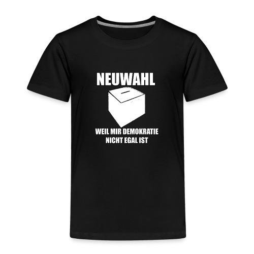 Neuwahl - Shirt - Kinder Premium T-Shirt