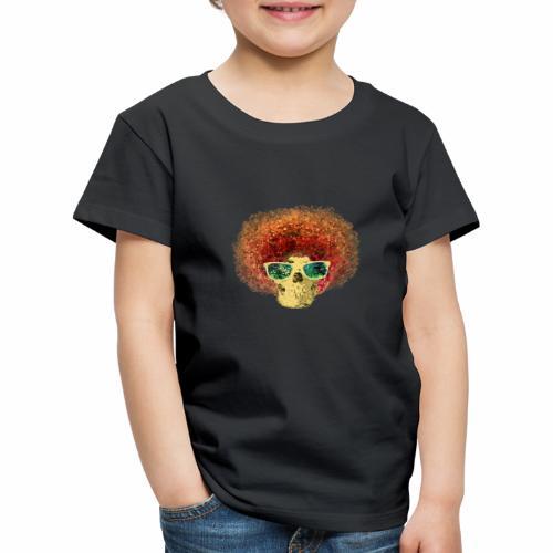 Freaky Skull Vintage - Kinderen Premium T-shirt