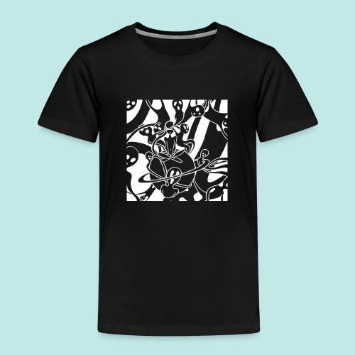 Personnage cauchemar fantômes esprits blanc - T-shirt Premium Enfant