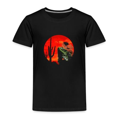 Wild Iguana - Kids' Premium T-Shirt