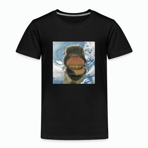 Drinking Horse / Drinkend Paard - Kinderen Premium T-shirt