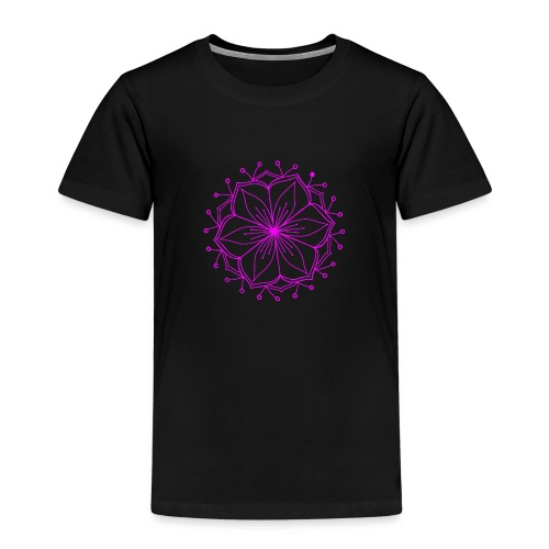 Pink Lotus Mandala - Kids' Premium T-Shirt